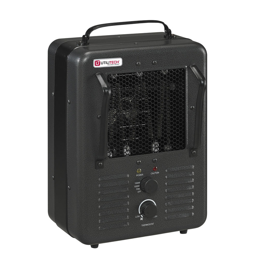 Compact Personal Electric Space Heater with Thermostat at Lowes.com