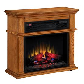Duraflame 32-in Premium Oak Electric Fireplace