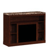 ClassicFlame Adams Empire Cherry Rectangular Fireplate Television Stand