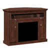ClassicFlame Windsor Antique Cherry Rectangular Fireplace TV Stand