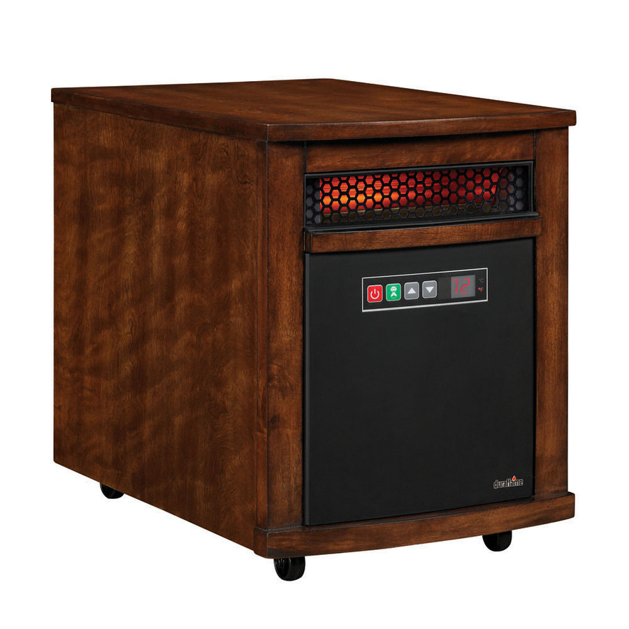 Shop Duraflame 5,200-BTU Infared Cabinet Electric Space Heater with