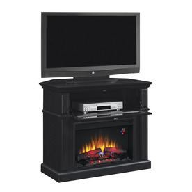 Shop Chimney Free 40 in EngineeRed Black Corner Electric