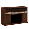 ClassicFlame Margate Caramel Oak Rectangular Fireplate Television Stand