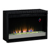 27-in Black Electric Fireplace Insert