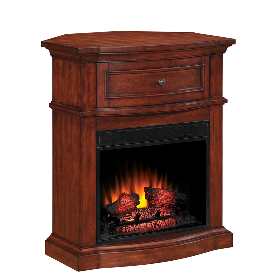 Shop Style Selections 32 In Empire Cherry Corner Electric Fireplace At