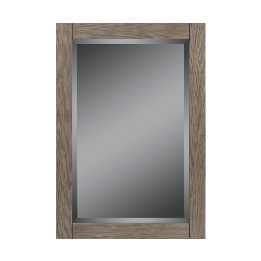 Lowes Mirrors Bathroom Shop Allen Roth 34 In H X 26 In W