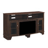 ClassicFlame Lasalle Midnight Cherry Rectangular Fireplate Television Stand
