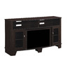 ClassicFlame Lasalle Oak Espresso Rectangular Fireplate Television Stand