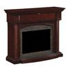 ClassicFlame 55-in W x 44-in H Black Walnut Poplar Traditional Fireplace Surround