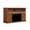 ClassicFlame Margate Caramel Oak Rectangular Fireplate Television Stand