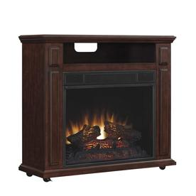 Fireplace Duraflame 31 5 In W 5 200 Btu Cherry Wood Infrared Quartz Portable Electric
