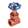 AMERICAN VALVE 1-1/2-in Brass Female In-Line Gate Valve
