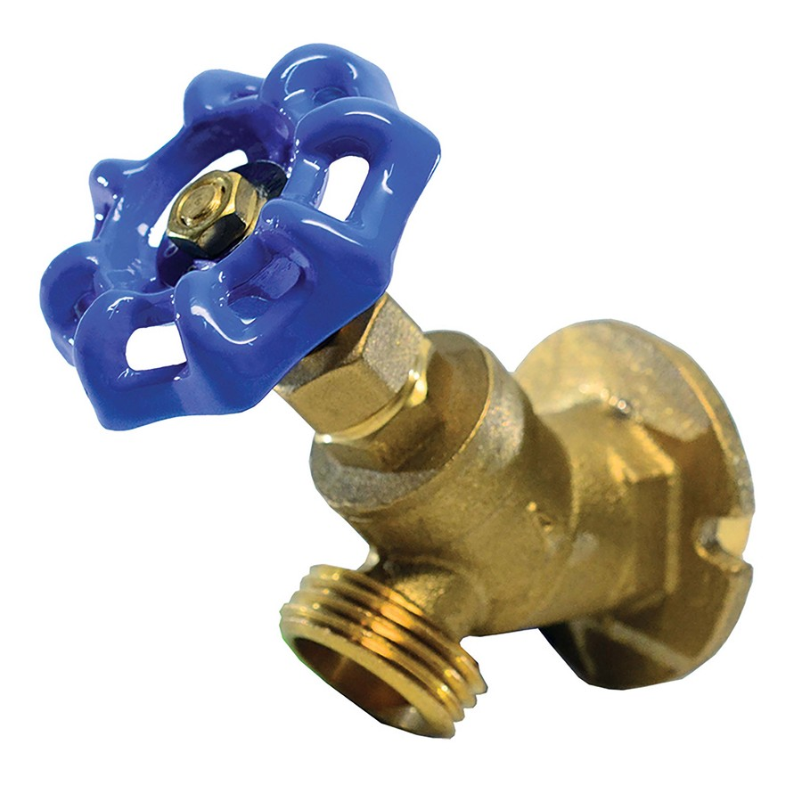 Shop AMERICAN VALVE 1/2-in Sweat Brass Sillcock Valve at Lowes.com