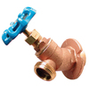 AMERICAN VALVE 3.75-in L 3/4-in Sweat Brass Sillcock Valve