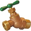 AMERICAN VALVE 1/2-in Male Brass Hose Bibb