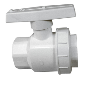 AMERICAN VALVE 1-1/2-in PVC Sch 40 Socket In-Line Ball Valve
