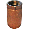 AMERICAN VALVE 3/4-in Brass Female In-Line Check Valve