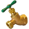 AMERICAN VALVE 1/2-in Female Brass No-Kink Hose Bibb