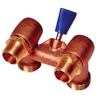AMERICAN VALVE 1/2-in Male Brass Washing Machine Valve