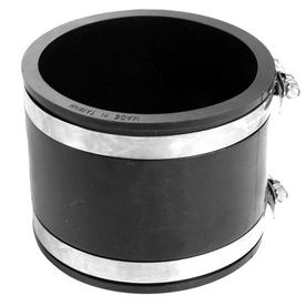 AMERICAN VALVE 1-1/2-in x 2-in dia Flexible PVC Coupling Fitting