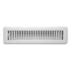 Accord Louvered White Steel Floor Register (Rough Opening: 2-in x 12-in; Actual: 3.76-in x 13.5-in)