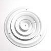 Accord White Steel Ceiling Diffuser (Rough Opening: 8-in x 8-in; Actual: 10-in x 10-in)