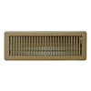 Accord Louvered Brown Steel Floor Register (Rough Opening: 2-in x 14-in; Actual: 3.78-in x 15.51-in)