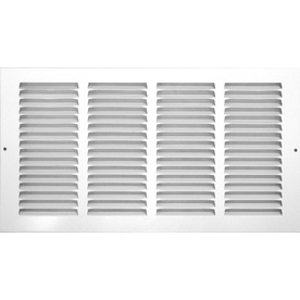 Accord 12-in x 20-in White Return Grille