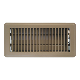 Accord 6-in x 14-in Brown Steel Floor Register