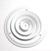 Accord 10-in Diameter White Steel Ceiling Diffuser