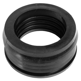 AMERICAN VALVE 4-Pack 4-in dia Flexible PVC Donut Fittings