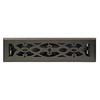 allen + roth Victorian Matte Steel Floor Register (Rough Opening: 2-in x 10-in; Actual: 3.6-in x 11.42-in)