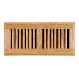 Accord 2-in x 10-in Oak Wood Floor Register