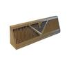 Accord 15-in Brown Steel Baseboard Register