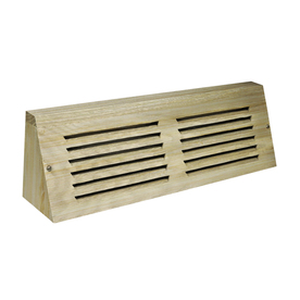 Accord 24-in Unfinished Wood Baseboard Register