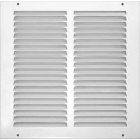 Accord 25-in x 25-in White Steel Return Grille