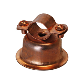 AMERICAN VALVE .05-ft L Copper Plated Steel Bell Hanger