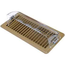 Accord 3.5-in x 9-in Magnetic Plastic Floor Air Deflector