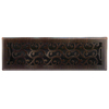 allen + roth Charleston Oil-Rubbed Bronze Steel Floor Register (Rough Opening: 4-in x 14-in; Actual: 5.37-in x 15.42-in)
