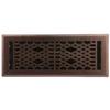 allen + roth Cathedral Oil-Rubbed Bronze Steel Floor Register (Rough Opening: 4-in x 12-in; Actual: 5.37-in x 13.42-in)