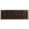 allen + roth Cathedral Oil-Rubbed Bronze Steel Floor Register (Rough Opening: 4-in x 14-in; Actual: 5.37-in x 15.42-in)