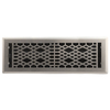 allen + roth Cathedral Satin Nickel Steel Floor Register (Rough Opening: 4-in x 14-in; Actual: 5.37-in x 15.42-in)
