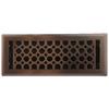 allen + roth Charlotte Oil-Rubbed Bronze Steel Floor Register (Rough Opening: 4-in x 12-in; Actual: 5.37-in x 13.42-in)