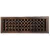 allen + roth Charlotte Oil-Rubbed Bronze Steel Floor Register (Rough Opening: 4-in x 14-in; Actual: 5.37-in x 15.42-in)