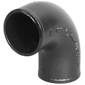 Charlotte Pipe 2-in Dia Quarter Bend Cast Iron Fitting