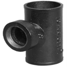 Charlotte Pipe 2-in x 2-Ft dia Sanitary Tee Cast Iron Fitting