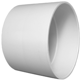 Charlotte Pipe 3-in dia PVC Coupling Fitting