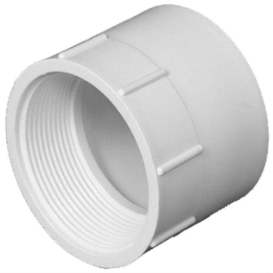 Shop charlotte pipe in dia pvc adapter fitting at lowes