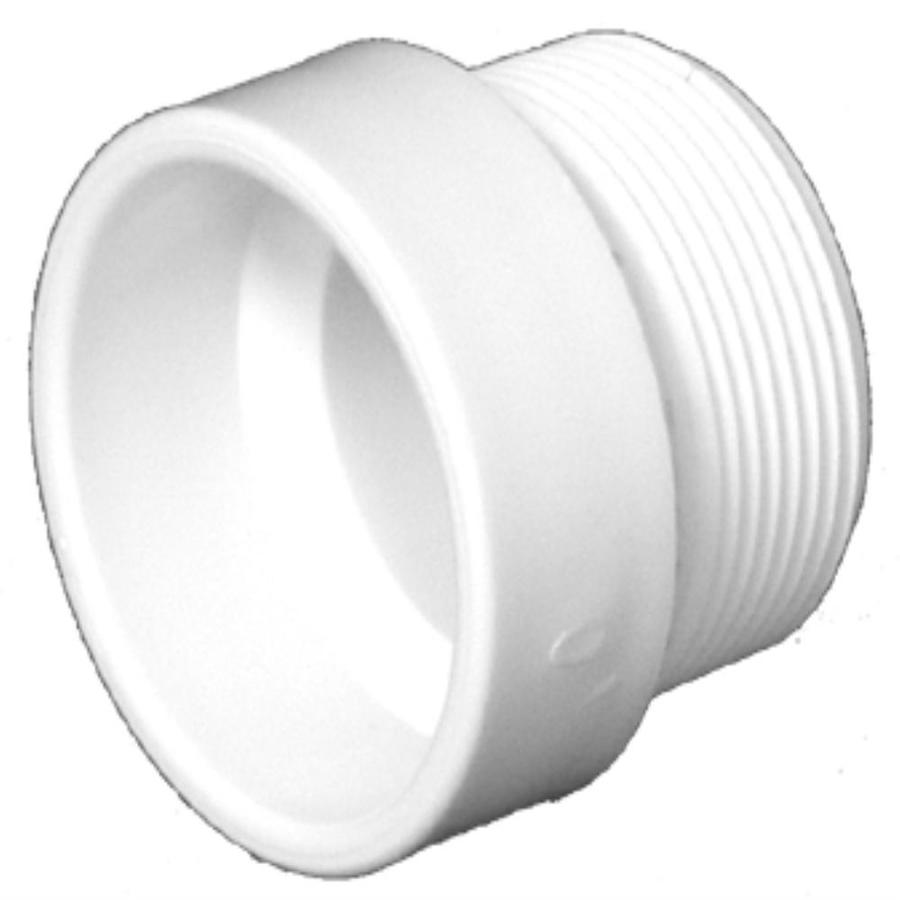 Shop charlotte pipe in dia pvc trap adapter fitting at