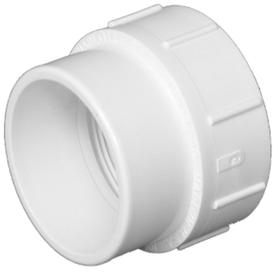 Charlotte Pipe 6-in dia PVC Cleanout Adapter Fitting